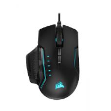 Corsair GLAIVE RGB PRO Gaming Mouse — Black/Aluminum (AP)