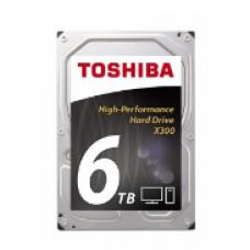 "TOSHIBA 6TB INTERNAL HARD DRIVE 3.5"" SATA 7200RPM"