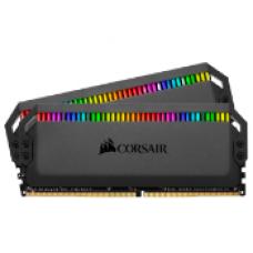 CORSAIR DOMINATOR® PLATINUM RGB 16GB (2 X 8GB) DDR4 DRAM 3600MHz C18 Memory Kit