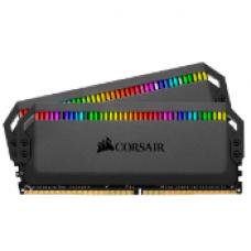 CORSAIR DOMINATOR® PLATINUM RGB 32GB (2 X 16GB) DDR4 DRAM 3200MHz C16 Memory Kit