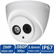 Dahua HAC-HDW-1200E 2MP Vandal-proof IR HDCVI Dome Camera